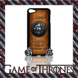 ★ GAME OF THRONES COVER/CASE FOR  APPLE IPOD TOUCH 5TH GENERATION 5/5G/GEN - Black Halo Design  - 4