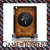 ★ CHOICE OF GAME OF THRONES HOUSE CRESTS ★ CASE/COVER FOR  APPLE IPAD AIR #2 - Black Halo Design  - 4