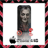 GAME OF THRONES LADY STONEHEART CASE/COVER  FOR APPLE IPHONE 4/4S/5/5S/5C STARK - Black Halo Design  - 2