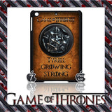 ★ CHOICE OF GAME OF THRONES HOUSE CRESTS ★ CASE/COVER FOR  APPLE IPAD AIR #2 - Black Halo Design  - 11