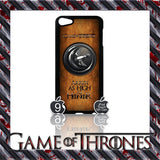 ★ GAME OF THRONES COVER/CASE FOR  APPLE IPOD TOUCH 5TH GENERATION 5/5G/GEN - Black Halo Design  - 7