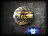 The Regiment of the Royal Artillery: Large 58mm Metal Bottle Opener Fridge Magnet - Black Halo Design  - 5