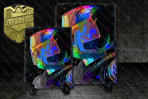 Judge Dredd Natural Rock Slate in choice of artwork & sizes