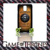 NEW) ★ GAME OF THRONES ★ COVER/CASE FOR SAMSUNG GALAXY S5/SV/I9600 (HOUSES) - Black Halo Design  - 6