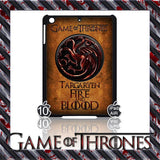 ★ CHOICE OF GAME OF THRONES HOUSE CRESTS ★ CASE/COVER FOR  APPLE IPAD AIR #2 - Black Halo Design  - 2