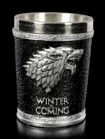 Game of Thrones: House Stark Shot Glass - Winter is Coming