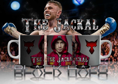 The Jackal: Carl Frampton 10oz Ceramic Mug #Jackalarmy - Black Halo Design