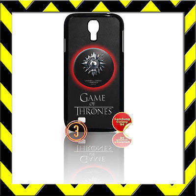 ★ GAME OF THRONES ★ COVER FOR SAMSUNG GALAXY S4 IV/I9500 PHONE CASE MARTELL#3 - Black Halo Design