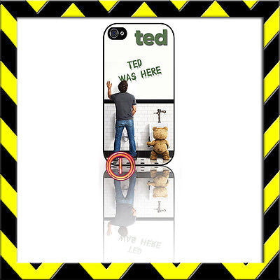 ★ TED WAS HERE ★ PROTECTIVE COVER FOR IPHONE 4/4S SHELL CASE SETH MCFARLAND#1 - Black Halo Design