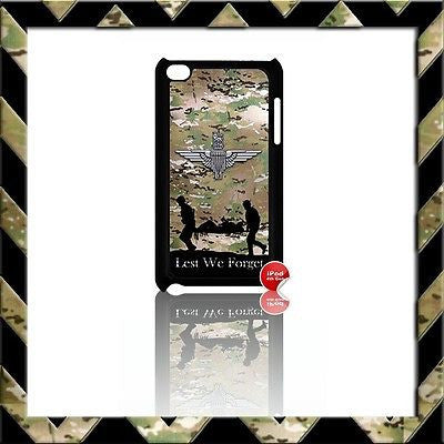 THE PARACHUTE REGIMENT PARA COVER/CASE FOR IPOD TOUCH 4/4TH GEN GENERATION 4G#3 - Black Halo Design