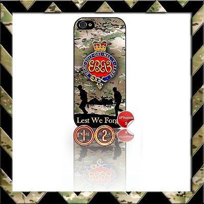 ★ THE GRENADIER GUARDS ★ SHELL/CASE/COVER FOR IPHONE 5 CAMO#12 - Black Halo Design
