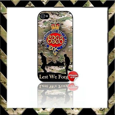 ★ THE GRENADIER GUARDS SHELL/CASE/COVER FOR APPLE IPHONE 4/4S CAMO#12 - Black Halo Design