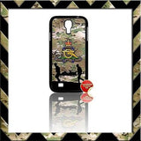 THE ROYAL REGIMENT OF ARTILLERY CASE/COVER FOR SAMSUNG GALAXY S PHONE RANGE #Multi-Cam - Black Halo Design  - 2