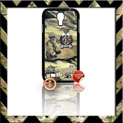 ★ THE ROYAL PIONEER CORPS COVER FOR SAMSUNG GALAXY S4 S IV/I9500 CASE ARMY RPC#6 - Black Halo Design