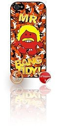★ MR BANG TIDY(KEITH LEMON)★ PHONE COVER FOR IPHONE 5/5S (CASE) GIRL CAMO#5 - Black Halo Design