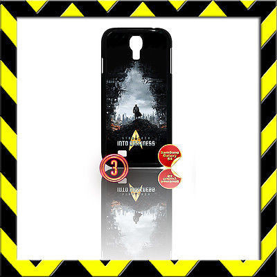★ STAR TREK ★ COVER FOR SAMSUNG GALAXY S4 S IV/I9500 SHELL/CASE INTO DARKNESS#3 - Black Halo Design