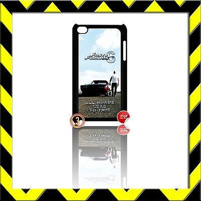 ★ FAST AND(&) FURIOUS ★ IPOD TOUCH 4/4TH GENERATION 4G HARD COVER VIN DIESEL#3 - Black Halo Design