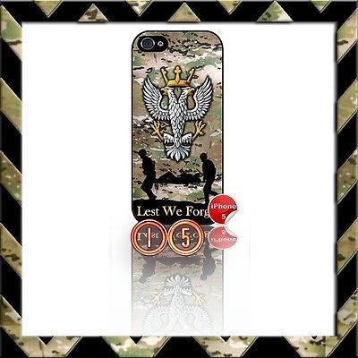 ★ THE MERCIAN REGIMENT ★ SHELL/CASE/COVER FOR IPHONE 5/5S (MERCS) CAMO#15 - Black Halo Design