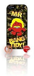 ★ MR BANG TIDY(KEITH LEMON)★ PHONE COVER FOR IPHONE 5 (CASE) GIRL CAMO#3 - Black Halo Design