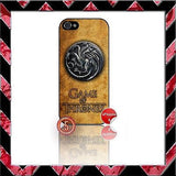 ★ CHOICE OF GAME OF THRONES ★ COVER/CASE FOR APPLE IPHONE 5  - Black Halo Design  - 6