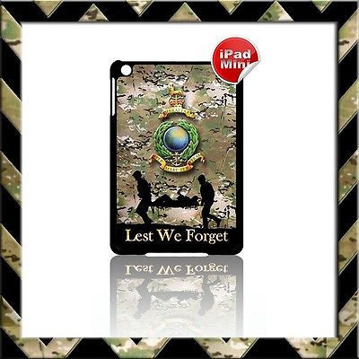 ★ THE ROYAL MARINES GLOBE & LAURELS ★HARD SHELL/CASE FOR APPLE IPAD MINI CAMO#2 - Black Halo Design