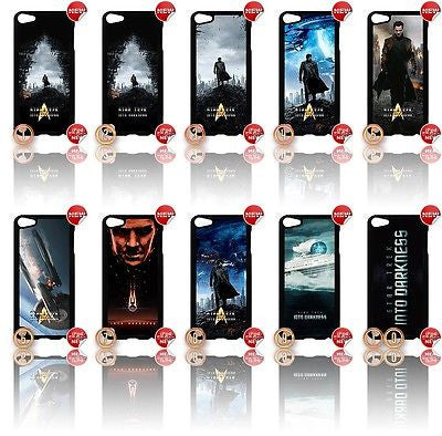 ★ STAR TREK INTO DARKNESS ★IPOD TOUCH 5/5th GENERATION 4G HARD CASE COVER - Black Halo Design  - 1