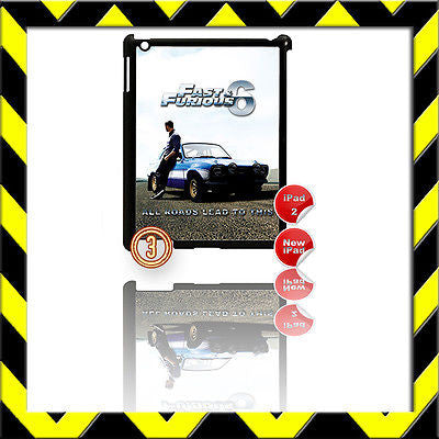 ★ FAST & FURIOUS 6 ★ SHELL/COVER FOR IPAD 2/3/4(3RD/4TH GEN AND) FORD ESCORT #V3 - Black Halo Design