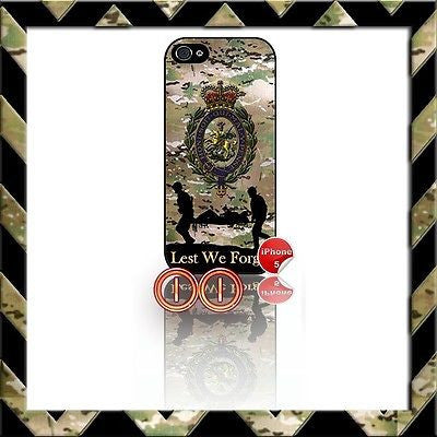 ★ THE ROYAL REGIMENT OF FUSILIERS ★ SHELL/CASE/COVER FOR IPHONE 5/5S CAMO#11 - Black Halo Design
