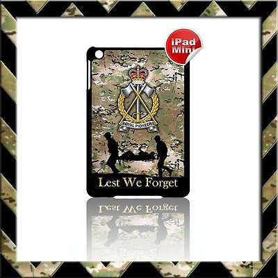 ★ THE ROYAL PIONEER CORPS(RPC)★ HARD SHELL/CASE FOR APPLE IPAD MINI CAMO #6 - Black Halo Design