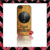 ★ CHOICE OF GAME OF THRONES ★ COVER/CASE FOR APPLE IPHONE 5  - Black Halo Design  - 4