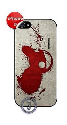 ★ DEADMAU5 (DEADMOUSE) ★ PHONE COVER FOR IPHONE 5 (CASE)#3 - Black Halo Design