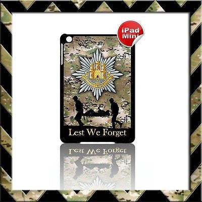 ★ ROYAL ANGLIAN REGIMENT (ARMY) ★ HARD SHELL/CASE FOR APPLE IPAD MINI CAMO#18 - Black Halo Design