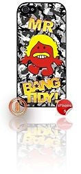 ★ MR BANG TIDY(KEITH LEMON)★ PHONE COVER FOR IPHONE 5/5S (CASE) GIRL CAMO#8 GREY - Black Halo Design