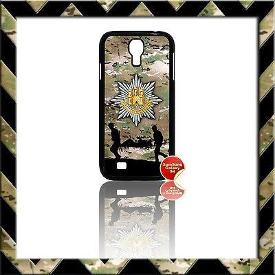 ★ THE ROYAL ANGLIAN REGIMENT COVER FOR SAMSUNG GALAXY S4/S IV/I9500 CASE ARMY - Black Halo Design