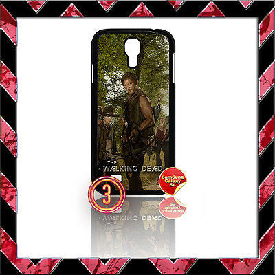 ★ THE WALKING DEAD ★ COVER FOR SAMSUNG GALAXY S4 IV/I9500 PHONE CASE DARYL#3 - Black Halo Design