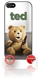 ★ TED ON COUCH WITH A BEER ★ PHONE COVER FOR IPHONE 5(CASE) #1 - Black Halo Design
