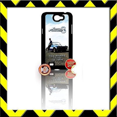 ★ FAST AND(&) FURIOUS 6 ★ COVER FOR SAMSUNG GALAXY NOTE II/2/N7100 FORD ESCORT#2 - Black Halo Design