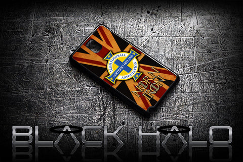 Northern Ireland: Case/Cover for Samsung Galaxy Note 2 & 3: Norn Iron - Black Halo Design