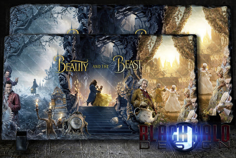 Beauty and the Beast Panoramic Natural Rock Slate