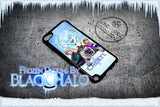 PERSONALISED: FROZEN CASE/COVER FOR APPLE IPOD TOUCH 5/5G/5TH GENERATION DESIGN#1 - Black Halo Design  - 2