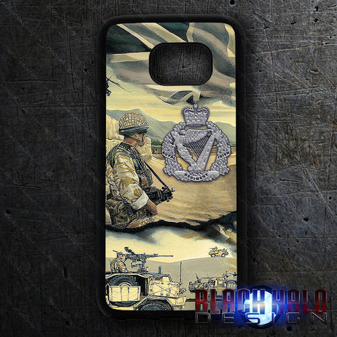 Royal Irish Regiment phone cases for Samsung S series mobile phones