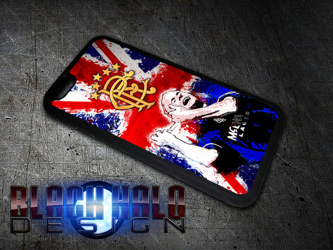 Gazza Rangers FC Union Jack Apple iPhone Case 4-8 Plus X