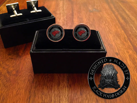 Game of Thrones Metal Cufflinks