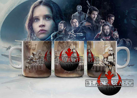 Star Wars: Rogue One Personalised 10oz Ceramic Mug