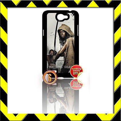 ★ THE WALKING DEAD ★ COVER FOR SAMSUNG GALAXY NOTE II/2/N7100 CASE MICHONNE#6 - Black Halo Design