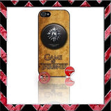 ★ CHOICE OF GAME OF THRONES ★ COVER/CASE FOR APPLE IPHONE 5  - Black Halo Design  - 8