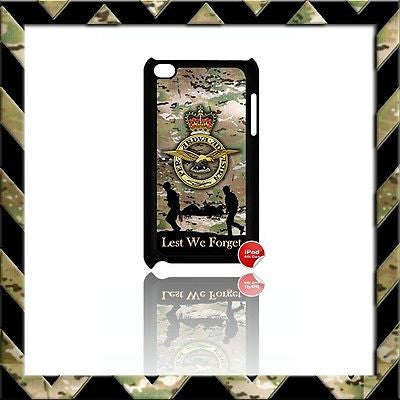 THE ROYAL AIR FORCE CASE/COVER FOR IPOD TOUCH 4/4TH GEN GENERATION 4G ARMY#15 - Black Halo Design