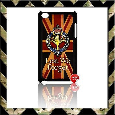 THE WELSH GUARDS COVER FOR IPOD TOUCH 4/4TH GEN GENERATION 4G H4H/UNION JACK - Black Halo Design