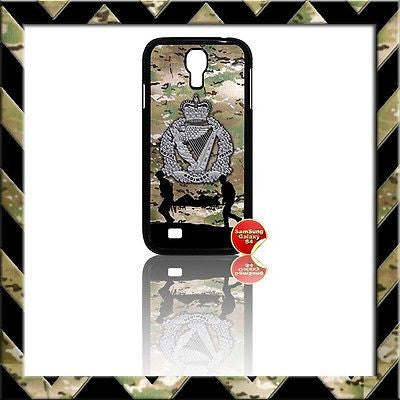 ★ THE ROYAL IRISH REGIMENT(RIR) COVER FOR SAMSUNG GALAXY S4/S IV/I9500 CASE ARMY - Black Halo Design