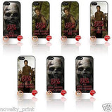 ★ THE WALKING DEAD ★ KEEP CALM ★ APPLE IPHONE 5 MOBILE PHONE HARD CASE COVER - Black Halo Design  - 1